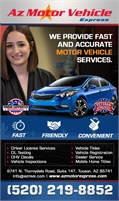 AZ Motor Vehicle Express