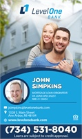 Level One Bank - John Simpkins