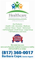 Healthcare Solutions Insurance Agency - Barbara Cope
