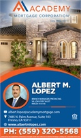 Academy Mortgage Corporation - Albert M Lopez NMLS#910148