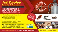 1st Choice Termite & Pest, Inc.