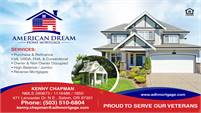 American Dream Home Mortgage - Kenny Chapman