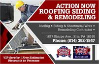 Action Now Roofing Siding & Remodeling