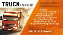 Mike & Son's Truck Repair, Inc.