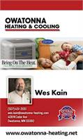 Owatonna Heating & Cooling, Inc.