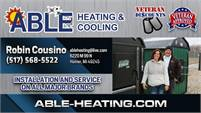 Able Heating & Cooling, Inc.