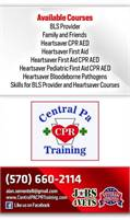 Central PA CPR Training