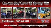 Custom Golf Carts Of Spring Hill