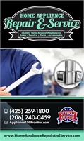 Home Appliance Repair & Service