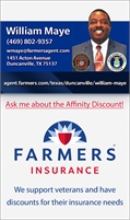 Farmers Insurance - William Maye