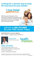 HealthMarkets Insurance Agency - Sue Everett · Licensed Insurance Agent