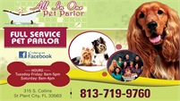 All In One Pet Parlor