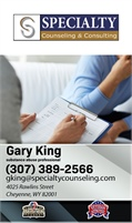 Gary King and Specialty Counseling - Gary King