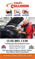 Cole's Collision Center Of Ballston Spa