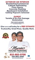 Marvin's House Painting & Quality Home Repairs