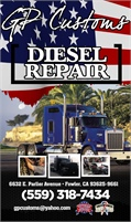 GP Customs Diesel Repair