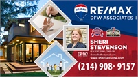 RE/MAX DFW Associates II - Sheri Stevenson