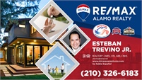 RE/MAX Alamo Realty - Esteban Trevino Jr