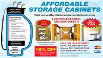 Affordable Storage Cabinets
