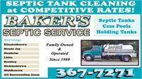 Baker's Septic Service
