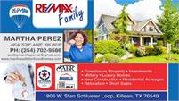 RE/MAX - Martha Perez