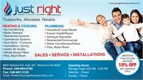 Just Right Heating & Cooling, Inc.