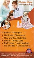 Critter Care Grooming - Tender Tails Pet Salon