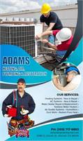 Adams Heating Air N Plumbing