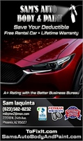 Sams Auto Body And Paint