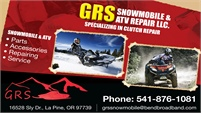 GRS Snowmobile & ATV Repair