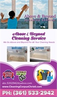 Above Beyond Cleaning Service