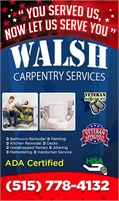 Walsh Carpentry Services