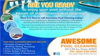 Awesome Pool Cleaning