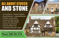 All About Stucco & Stone