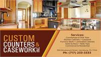 Custom Counters & Casework, Inc.