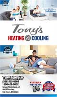 Tony's Heating And Cooling