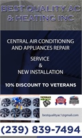 Best Quality AC & Heating Inc