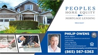 Peoples Home Equity - Philip Owens