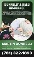Donnelly & Reed Insurance Inc - Martin Donnelly