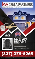 Keller Williams Cenla Partners - Cotton Bryant
