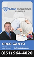 Atlas Insurance Brokers LLC - Greg Ganyo