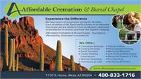 Affordable Cremation & Burial Chapel