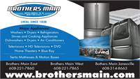 Brothers Main Appliance TV & Mattress