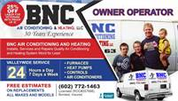 BNC Air Conditioning and Heating LLC