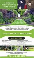 A & G Gomez Landscaping