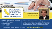 California Mortgage Associates - Chris Harrigfeld
