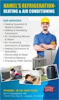 Hamel's Refrigeration-Heating & Air Conditioning