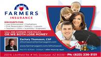 Farmers Insurance - Zachary Thomason, CSP