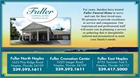 Fuller Funeral Home - Cremation Service