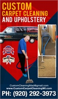Custom Carpet Cleaning And Upholstery